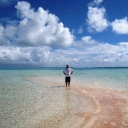 Rangiroa&#039;s Pink Sand Beach